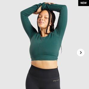 Gymshark x Whitney Simmons crop top Amazon